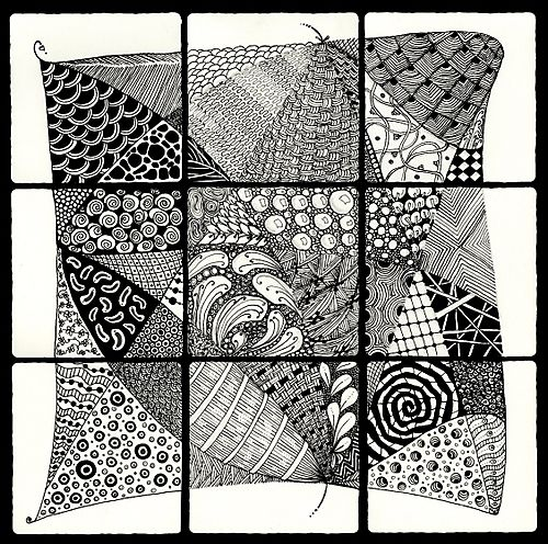 Tangle collage BLOG