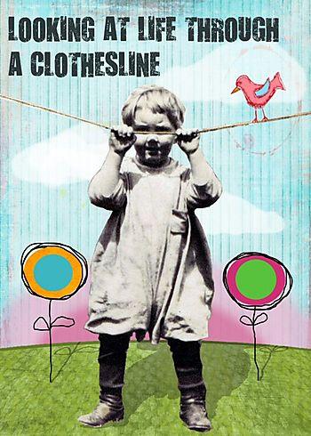 Clothesline boy BLOG