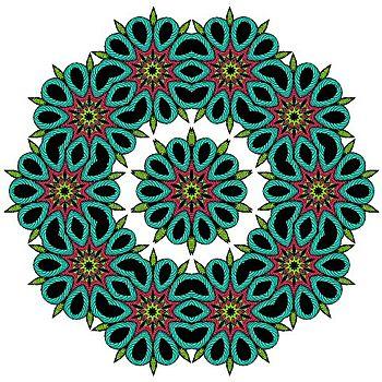 Tangle 13 kalid color twice BLOG