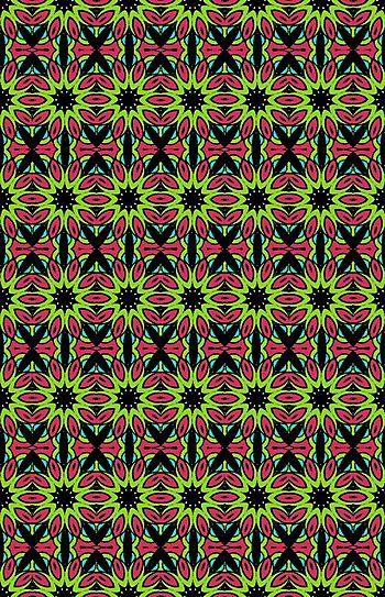 Tangle 13 kalid color pattern BLOG