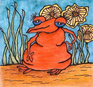 Garden creature