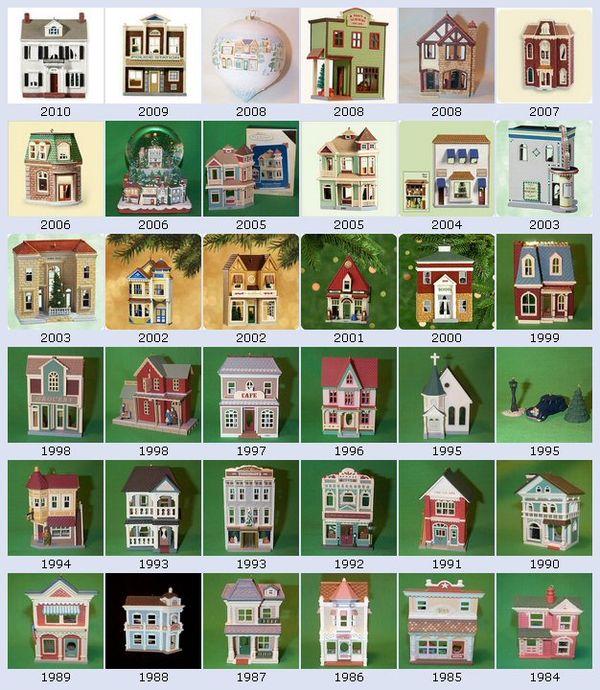 Penny Raile: Hallmark Nostalgic Christmas Houses