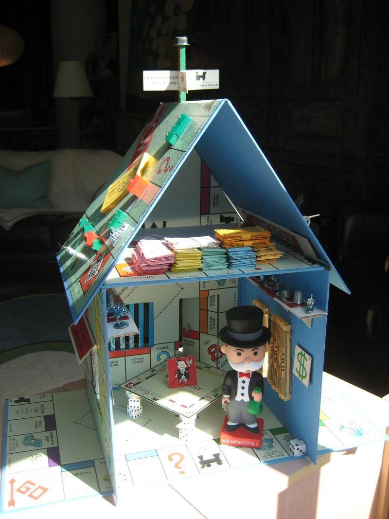 Monopoly house 3