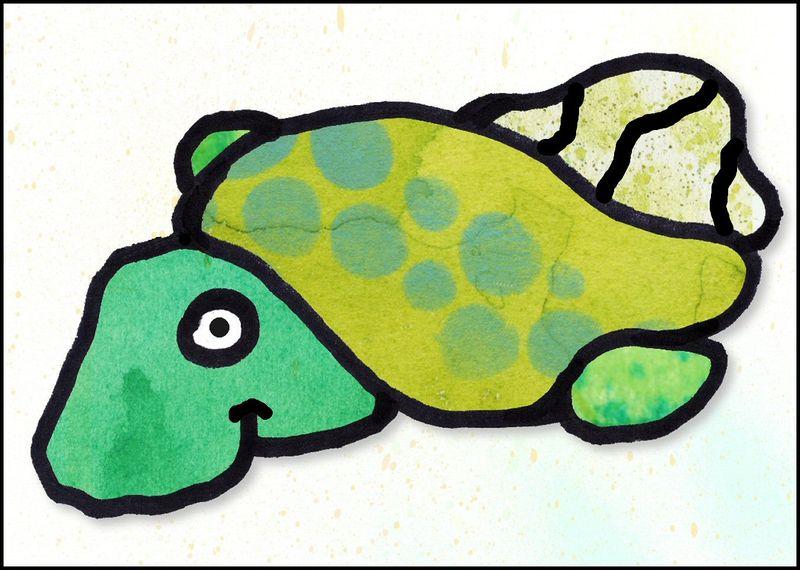 Turtle blob 1