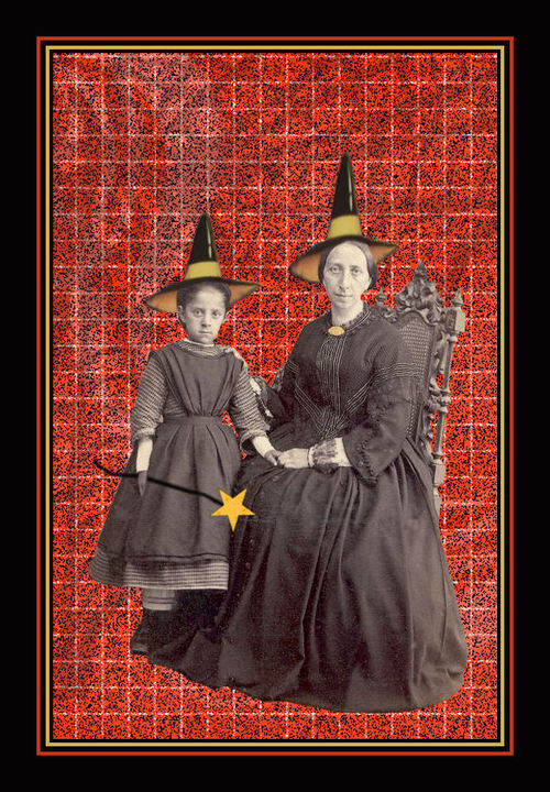 Mother Witch with Daughter Witch