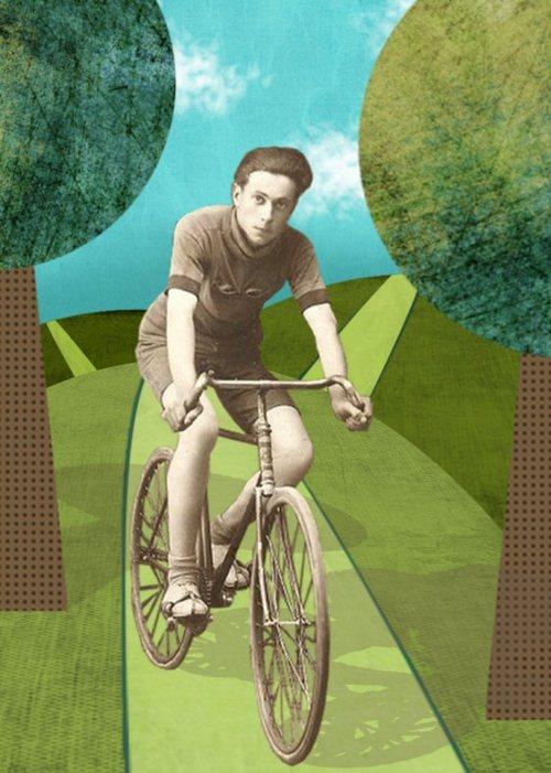 Man On A Bike Ride